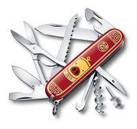 Нож перочинный Huntsman Год свиньи 2019 VICTORINOX 1.3714.E8 - Армейские 91/93 мм