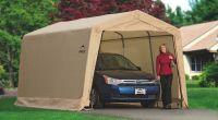 Портативный тентовый гараж ShelterLogic 3x4,6x2,4 м - Тентовые гаражи ShelterLogic