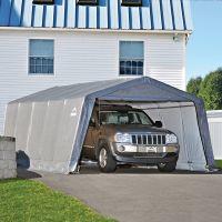 Портативный тентовый гараж ShelterLogic 3,7x6,1x2,5 м - Тентовые гаражи ShelterLogic